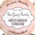 Personalized Holiday Coasters for Chanukah | Evermine Blog | www.evermine.com #Hanukkah