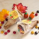 Candy Cornucopia Favors for Thanksgiving | Evermine Blog | www.evermine.com