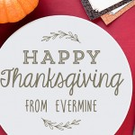 Happy Thanksgiving! From Evermine | www.evermine.com