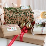 New Holiday Labels + Gift Packaging Inspiration | Evermine Blog | www.evermine.com