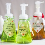 DIY Gift: Foaming Hand Soap - We wash you a merry Christmas!"