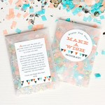 DIY Confetti Favors for the New Year | Evermine Blog | www.evermine.com
