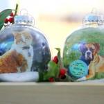 DIY Photo Ornaments   Evermine Blog   www.evermine.com #holiday #christmas