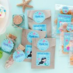 3 DIY Mermaid Party Favor Ideas | Evermine Blog | www.evermine.com