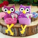 Handmade Owl Plushies | Evermine Blog | www.evermine.com