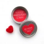 DIY Felted Heart Magnet Valentine's Day Gifts   Evermine Blog   www.evermine.com