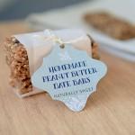 Three Ingredient Peanut Butter Date Bars | Evermine Blog | www.evermine.com