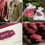 Wedding Inspiration: 2015 Pantone Color of the Year | Valentine's Day Wedding Favors | Evermine Blog | www.evermine.com
