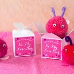 Handmade Pompom Love Bugs   Evermine Blog   www.evermine.com