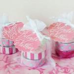 Washi Tape Tea Light Wedding Favors | Evermine Blog | www.evermine.com