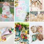 Spring Wedding Inspiration + DIY Confetti Bar | Evermine Blog | www.evermine.com