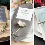 Table Setting Tips: 3 Menu Napkin Folds | Evermine Blog | www.evermine.com
