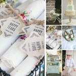 Vintage Wedding Inspiration featuring New Retro Wedding Stationery and Paper Goods | Evermine Blog | www.evermine.com