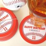 Birthday Coasters | Evermine Blog | www.evermine.com