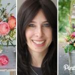 Pinterest Collaboration: Floral Arrangements with Blog Contributor Chana Scop | Evermine Blog | www.evermine.com