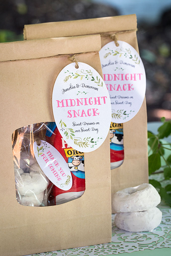 Midnight Snack Wedding Favors Weddings Ideas from Evermine
