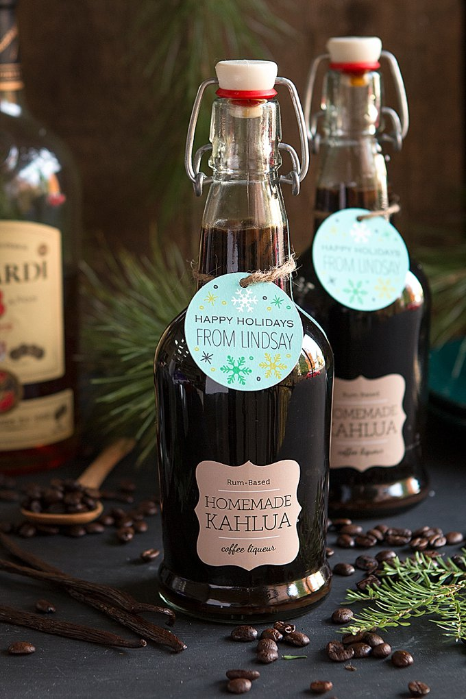 Saturday Sips: Homemade Kahlua Holiday Gifts - Evermine ...